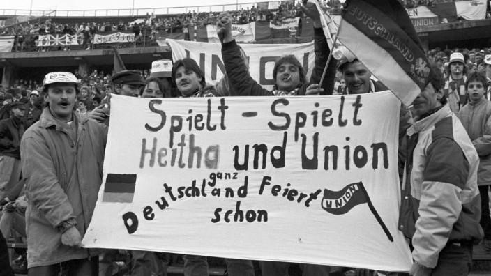 Vor Stadtderby 1.FC Union - Hertha BSC