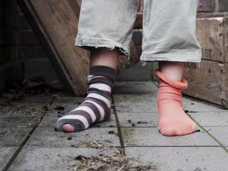 Brainteaser Bewerbungsgespräch Socken, dpa