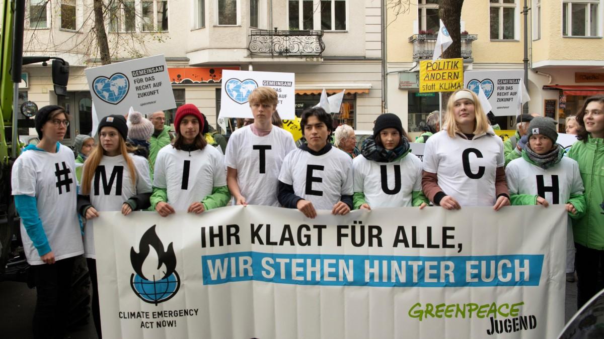 Klimaaktivisten verklagen die Bundesregierung
