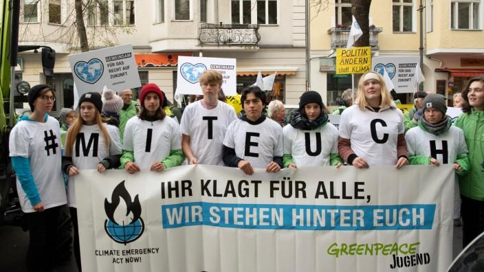 Verwaltungsgericht befasst sich mit der Klimapolitik
