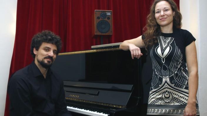 Jazz-Duo im Kurparkschlösschen