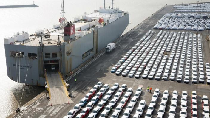 Auto-Exporte gehen im ersten Halbjahr zurück