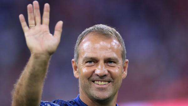 FLICK Hansi Team FC Bayern Muenchen DFL Bundesliga Saison 2019-2020 Spiel FC Bayern Muenchen - Hertha BSC Berlin 2 : 2