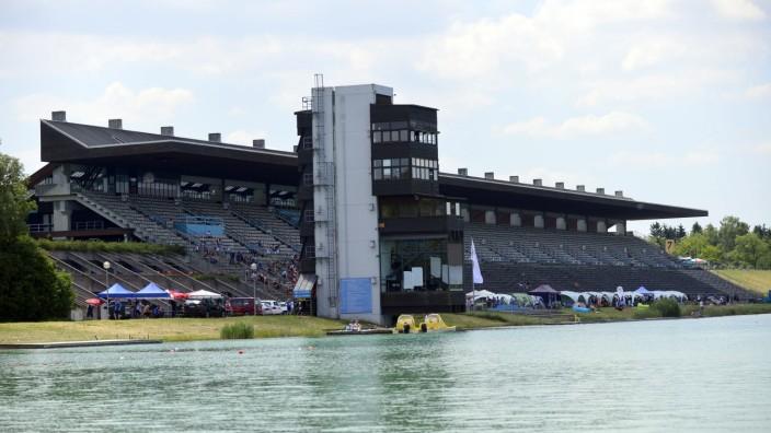 Die Olympiaregattastrecke in Oberschleißheim.