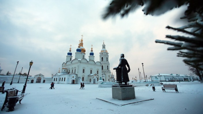 Sibirien Tobolsk Russland