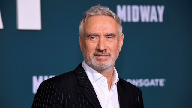 Roland Emmerich attends the premiere of 'Midway' in Los Angeles
