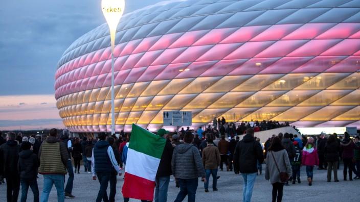 Fußball-Länderspiel Deutschland- Italien in München, 2016