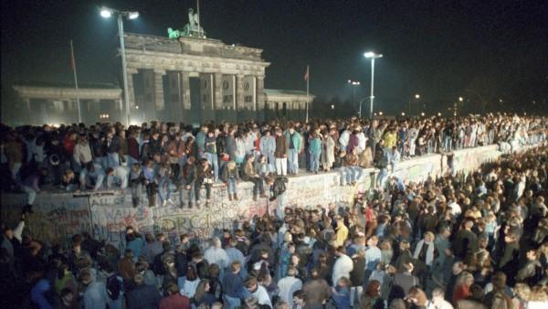 30 Jahre Mauerfall am 9. November 1989