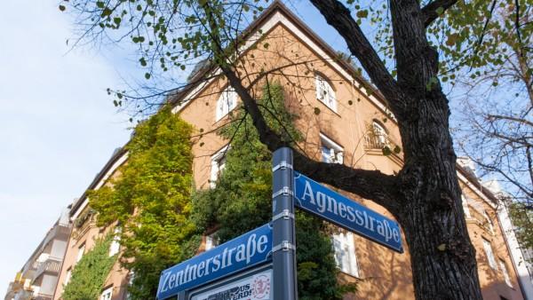 Haus Agnesstraße 48 in Müchen-Schwabing steht unter Denkmalschutz