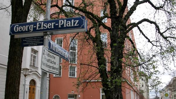 Georg-Elser-Platz in München, 2005