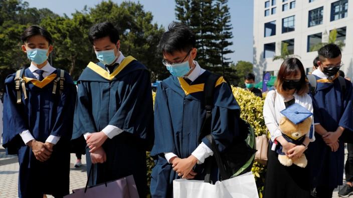 Hongkong Studenten Trauer