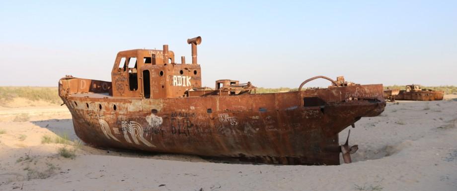 Aral See Bilder Moynak und Meeresgrund