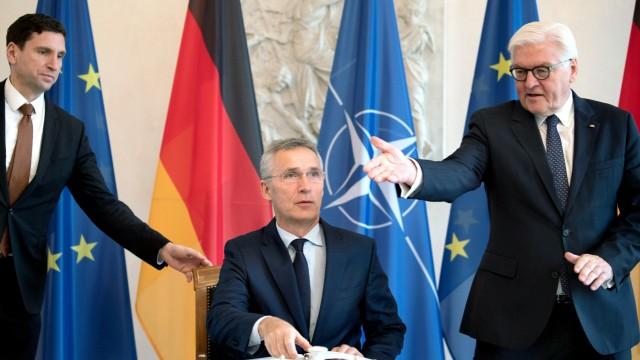 Nato-Generalsekretär Stoltenberg in Berlin
