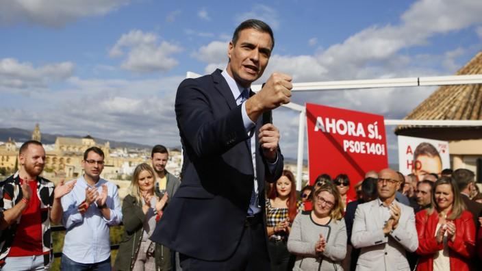 Vor der Wahl in Spanien