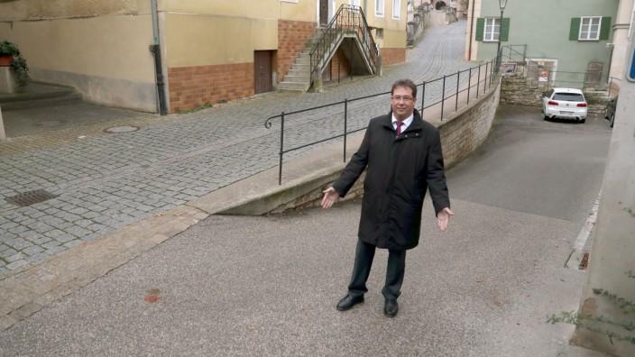 Pappenheims Bürgermeister Uwe Sinn.