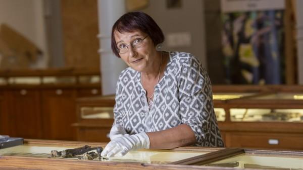 Die Tübinger Wissenschaftlerin Madelaine Böhme.