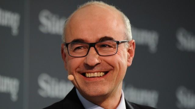 Achim Wambach auf dem SZ-Wirtschaftsgipfel in Berlin, 2018