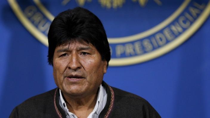 Bolivischer Präsident kündigt Neuwahlen an