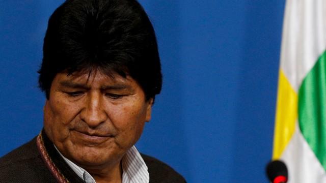 Bolivien: Staatschef Evo Morales