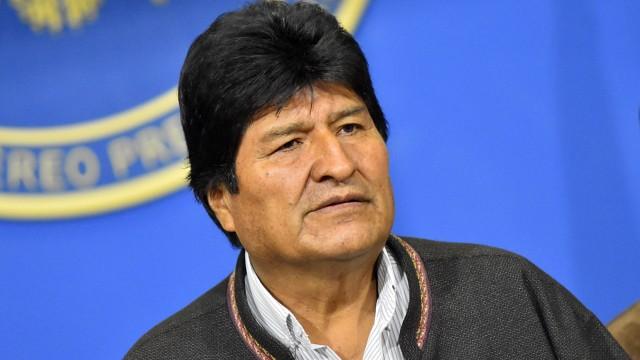 Bolivien: Evo Morales 2019 in La Paz