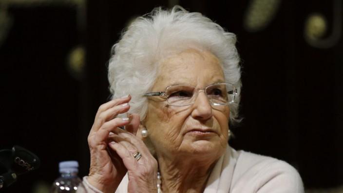 Polizeischutz für italienische Holocaust-Überlebende