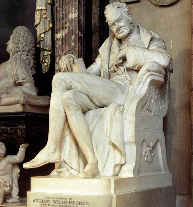 Westminster Abbey statue William Wilberforce