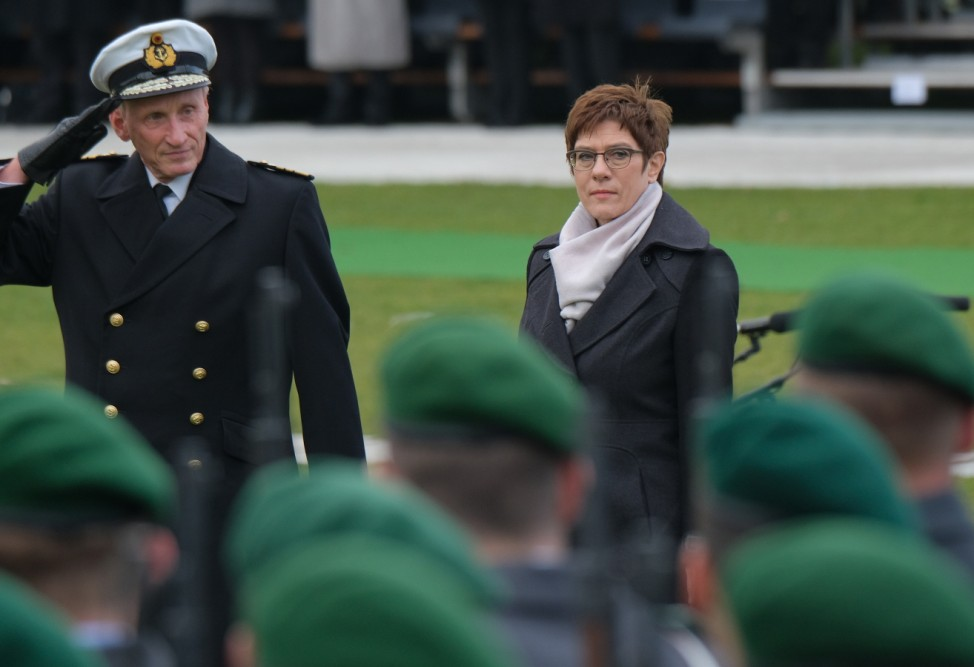 Bundeswehr Soldiers Hold Public Oath-Taking