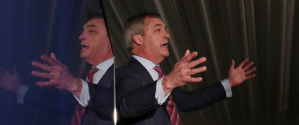 Nigel Farage visits Sedgefield