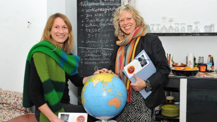 """Angelika Bachmann und Antonia Veramendi von """"Campus di Monacco"""" in München, 2019"""