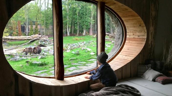 Full Moon Lodge im Pairi Daiza Resort