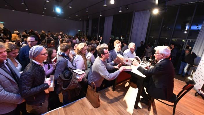 Ken Follett beim Literaturfest 2017 im Literaturhaus München