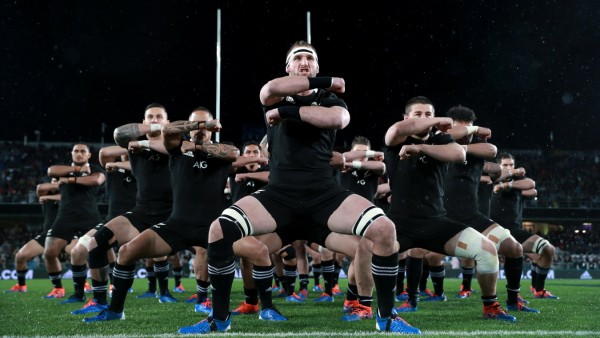 New Zealand v Australia - 2019 Rugby Championship; New Zealand Rugby Haka