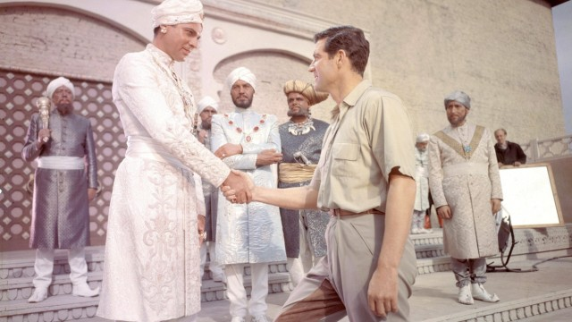 DER TIGER VON ESCHNAPUR Le Tigre du Bengale La Tigre di Eschnapur BRD Frankreich Italien 1958