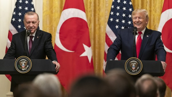 President Trump Hosts Turkish President Recap Tayyip Erdogan At White House