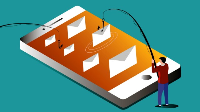 Illustration Phishing E-Mail