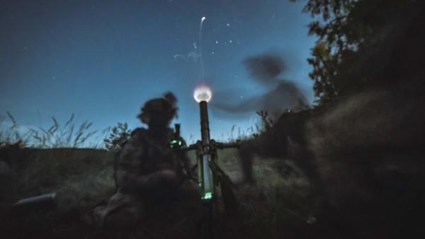 Sky Soldiers Light Up Night Sky