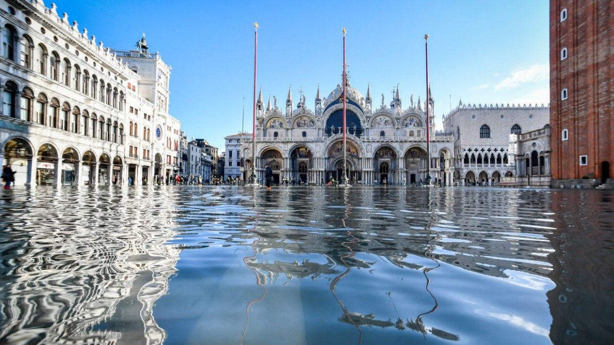 Venedig rüstet sich gegen die Flut