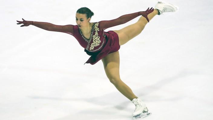 Figure skating, Eiskunstlauf - Golden Bear ZAGREB,CROATIA,27.OCT.19 - FIGURE SKATING - 31st Golden Bear. Image shows Ni