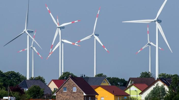 Abstand von Windrädern zu Wohnsiedlungen