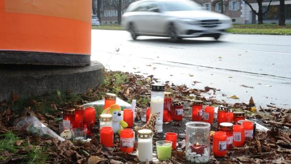 Tödlicher Raserunfall in München: Gedenken an Opfer in Laim, 2019