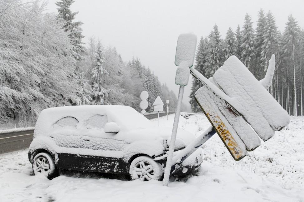 Wintereinbruch in Ostbelgien
