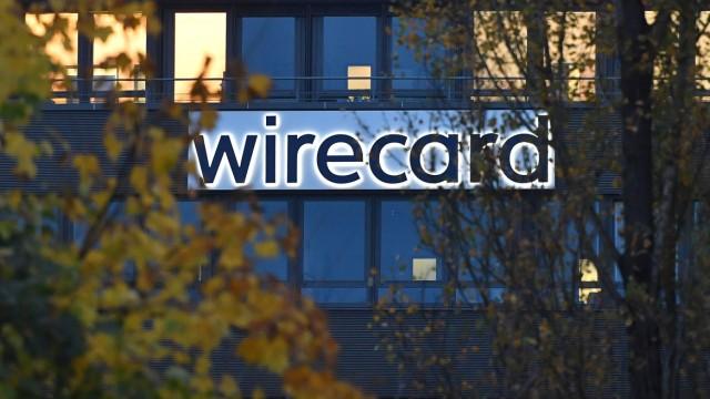 wirecard Logo, Firmenemblem,Schriftzug ,Gebaeude, Fassade,Sitz in Aschheim Dornach WIRECARD AG *** wirecard logo, compan
