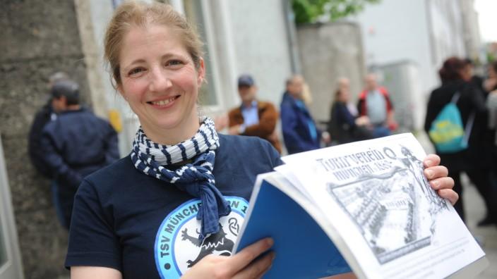 """Stadtratsliste: Stephanie Dilba engagiert sich bei """"Löwen gegen rechts"""" und will nun Oberbürgermeisterin werden."""