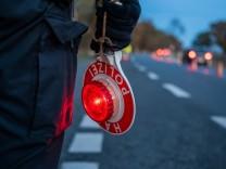 Länderübergreifenden Kontrollaktion der Polizei