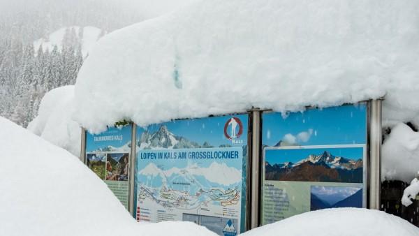 Kals am Grossglockner THEMENBILD - Die Schneefälle der vergangenen Tage sorgen in Teilen Österreichs für massive Gefahr