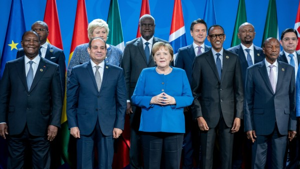 Konferenz 'Compact with Africa' im Bundeskanzleramt