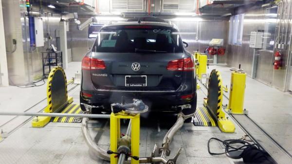 VW Touareg beim Kältetest in den USA