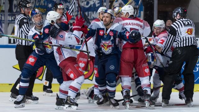 Eishockey, Championshockeyleague, EHC Red Bull München - Yunost Minsk; Eishockey