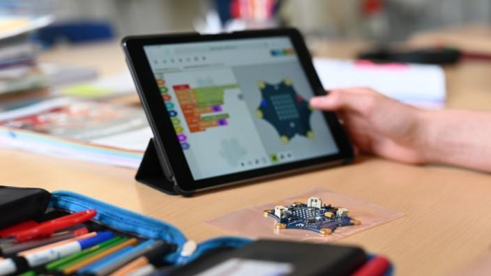 Pilotschulen für digitales Lernen in Sachsen