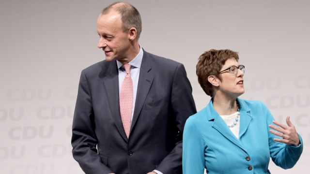 Friedrich Merz und Annegret Kramp-Karrenbauer